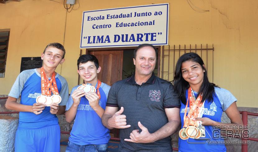 Alunos de Antônio Carlos conquistam medalhas na etapa Paralímpica do JEMG