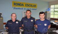 Gm 1 Carlos, GM 1 Peixoto e o sub-Comandante Itamar