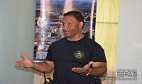 Comandante da Guarda Mun. de Varginha, Gerson Alves da Trindade.