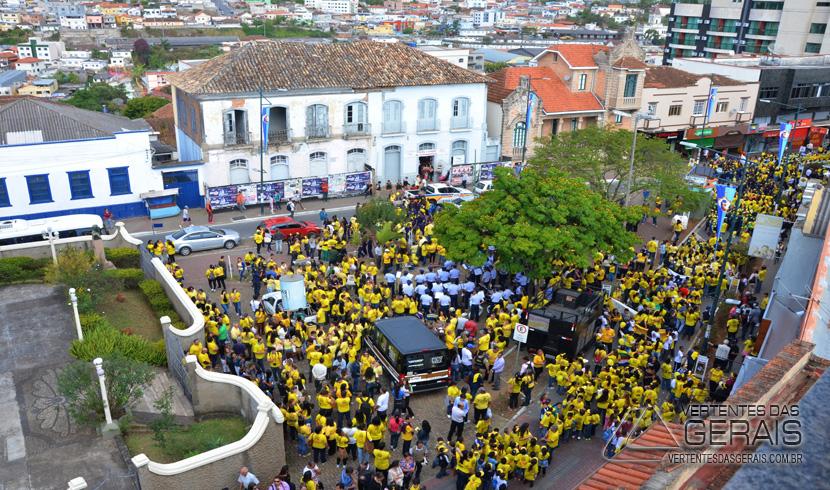 Caminhada Pela Vida marca início da Campanha Setembro Amarelo.