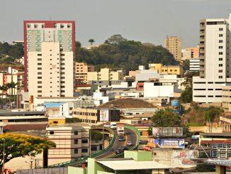 Vista parcial da região central de Conselheiro Lafaiete