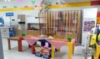 Ornamentação da Loja realizada por Samara Damascendo da empresa Sonho de Criança Ornamentações