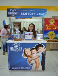 Gianne Ferandes, representou a empresa Ortoplan Especialidades Odontológicas.