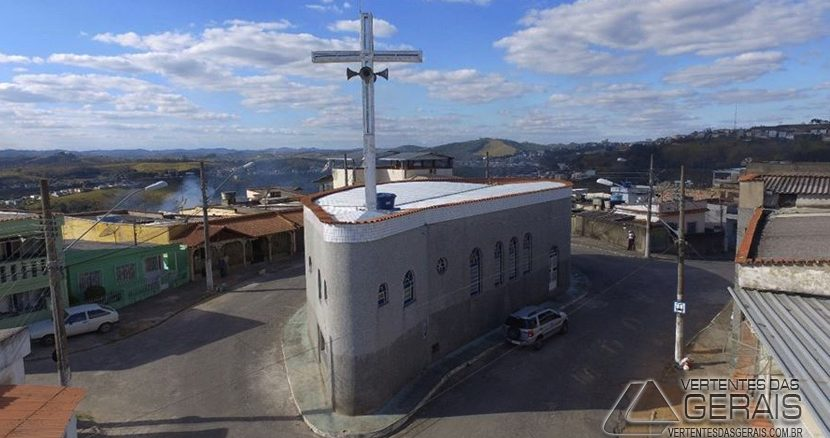 Igreja de Santa Efigênia em Barbacena.
