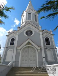 Igreja de nossa Senhora das Graças em Barbacena.