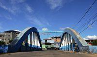 Ponte Severino Rodrigues sobre o Rio das Mortes.