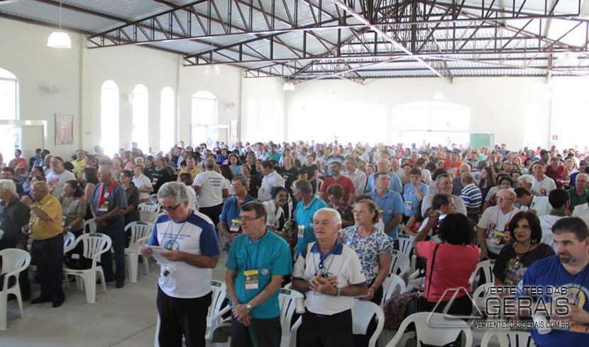 Barbacenenses tomam posse em Ultreia realizada em Rio Pomba