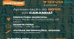 PARTIDO NOVO PROMOVE REUNIÃO PÚBLICA NA PRÓXIMA QUARTA FEIRA (13) EM CARANDAÍ