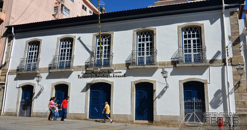 Palácio da Revolução Liberal-  Câmara Municipal de Barbacena.