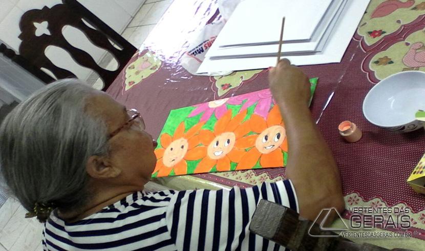 Casa do Velho Amigo de Barbacena Promove Exposição de Trabalhos