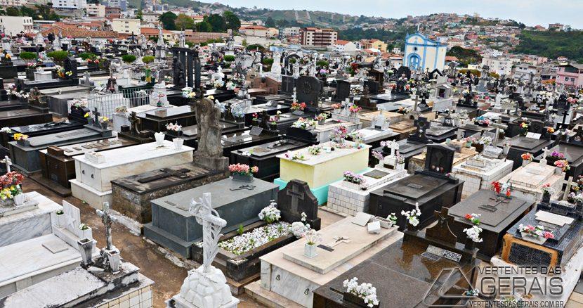 Cemitério de Nossa Senhora da Boa Morte em Barbacena.