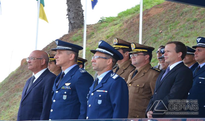 Solenidades marcam o Dia do Aviador e da FAB em Barbacena.