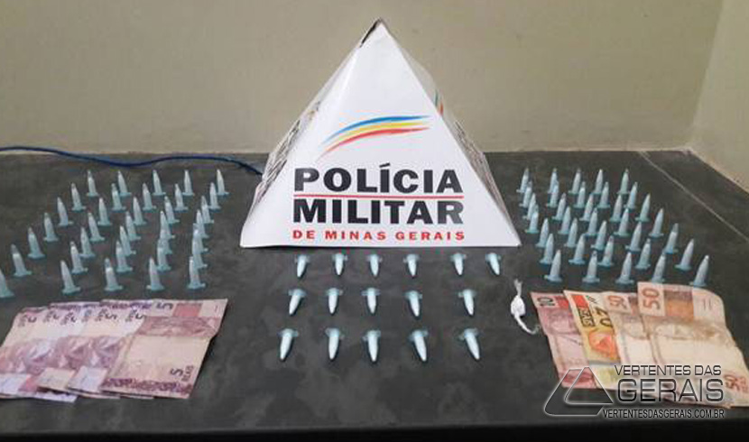 PM REALIZA PRISÃO E APREENSÃO POR TRÁFICO DE DROGAS