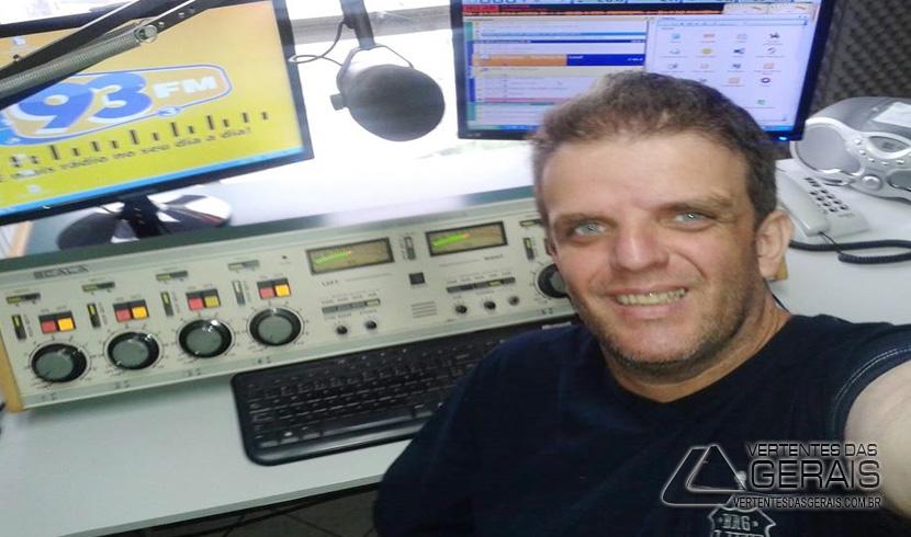 A voz do radio na região da adeus a Marcelo Benzine