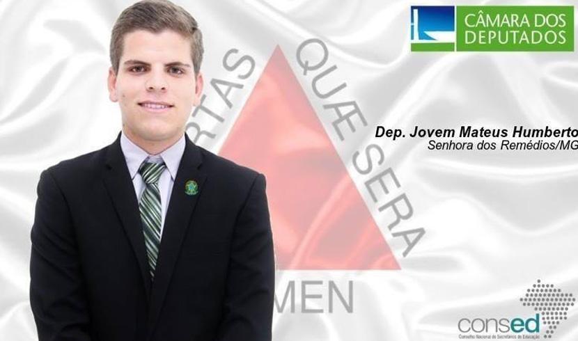 Jovem de Senhora dos Remédios Integra Parlamento Jovem Brasileiro em Brasília