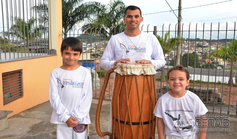 Gente: Instrutor Rogério Santos e os benefícios da Capoeira