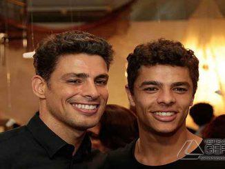 Cauã Reymond e Matheus Abreu viverão os mesmo personagens em diferentes fases da vida. (foto: TV Globo/Divulgação)