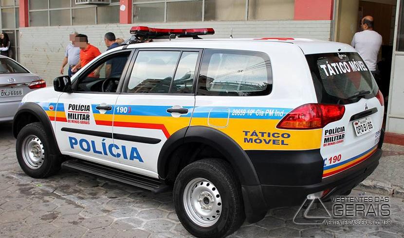 PM REGISTRA DUAS TENTATIVAS DE ROUBOS A ESTABELECIMENTOS COMERCIAIS EM LAFAIETE