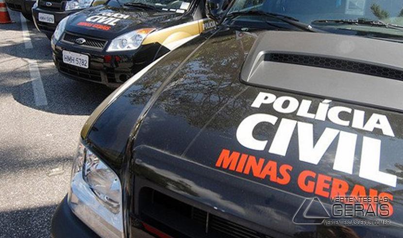 POLÍCIA CIVIL PRENDE SUSPEITO DE DIVERSOS FURTOS E ROUBOS EM CONSELHEIRO LAFAIETE