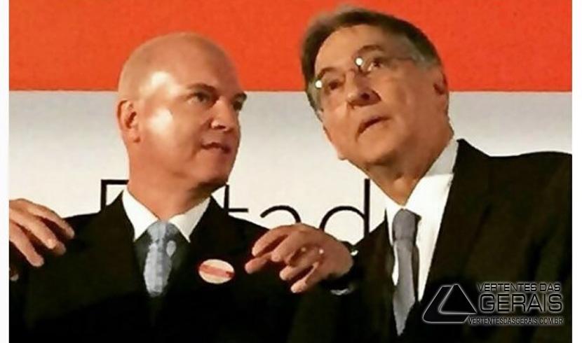 Toninho Andrada e o Governador de Minas Gerais, Fernando Pimentel