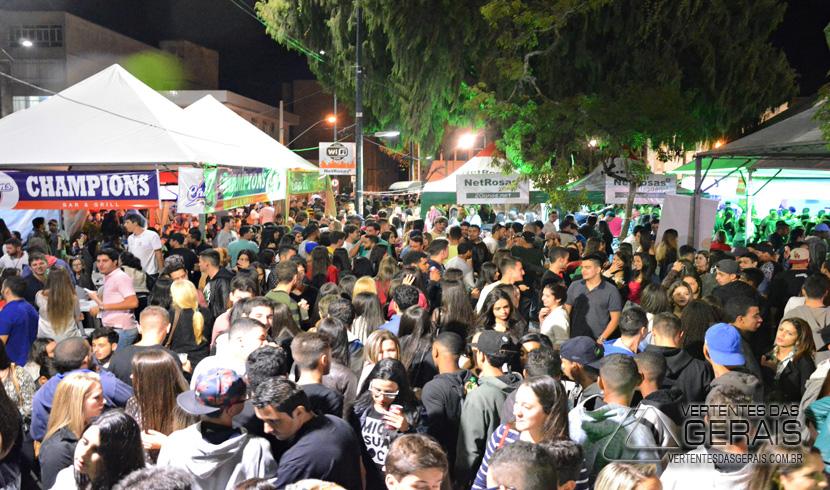 Festival das Rosas e Buteko na Praça movimenta o Centro de Barbacena