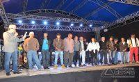 Participantes do Concurso Sertanejo realizado na noite da sexta feira(16).