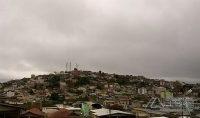 Barbacena amanhece com céu nublado e temperaturas amenas(foto: Raony Oliveira).