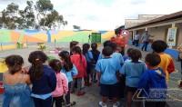 Coluna Débora Marcier: Alunos de Escola Municipal Recebem Orientações sobre Trânsito