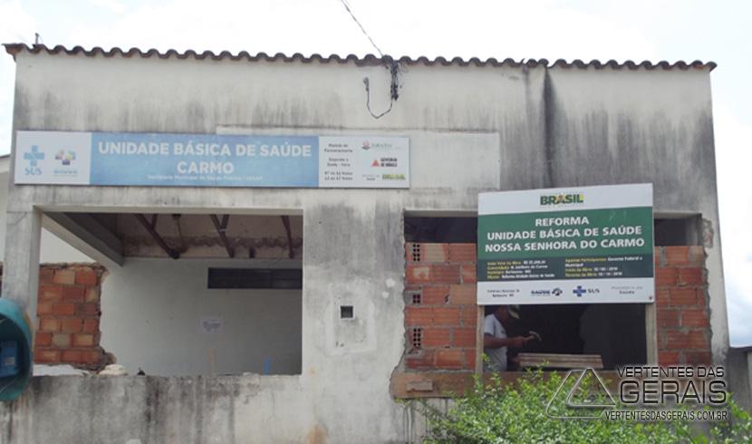 PREFEITURA REFORMA UBS NOS BAIRROS DO CARMO E SANTA EFIGÊNIA