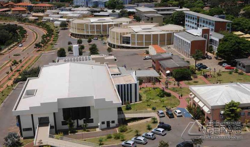 Uma das instituições avaliadas com nota máxima foi a Universidade Federal de Lavras (Ufla), no Sul de Minas (foto: Paulo Filgueiras/EM/D.A PRESS - 07/03/2014)