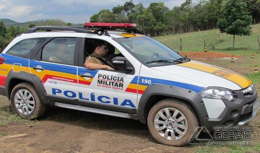 MOTOCICLISTA FICA FERIDO EM ACIDENTE NA BR 132 PRÓXIMO A ALTO RIO DOCE