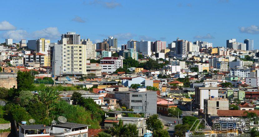 Visão panorâmica de Barbacena.(Foto: Januário Basílio).