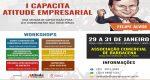 1º CAPACITA DA ATITUDE EMPRESARIAL OFERECE CURSOS RÁPIDOS PARA EMPREENDEDORES