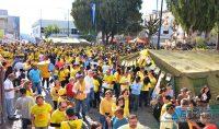Diversas entidades de Barbacena  prestigiaram a Caminhada.