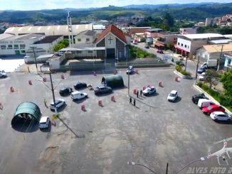 Drive-thru-praça-santo-antônio-barbacena