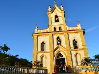 paróquia de Sant'Ana e São Joaquim em Antônio Carlos, MG.