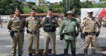 SOLENIDADE MARCA POSSE DOS NOVOS COMANDANTES, NO 31ºBPM E 13ª CIA. PM IND. MAT.