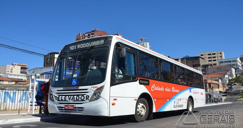Valor das passagens no transporte coletivo de Barbacena passa para R$ 3,00.