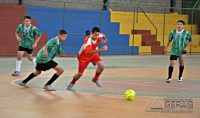 Partida de futsal entre EAC  Divino(cor verde) x EAC Bom Pastor(vermelho)