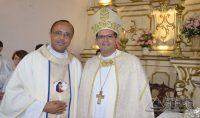 Padre Geovane Luis da Silva e Dom José Eudes Campos do Nascimento