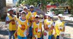 ALUNOS DE ESCOLAS PÚBLICAS REALIZAM BLITZ EDUCATIVA NO CENTRO DE LAFAIETE