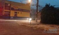 Chuvas em Lavras (Foto: Reprodução / Redes Sociais)