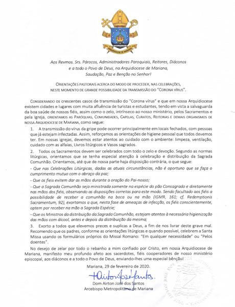 comunicado-arquidiocese-de-mariana