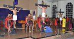 """ENCENAÇÃO DA """"PAIXÃO E MORTE DE CRISTO"""" ACONTECE HOJE (14), NA IGREJA DA PENHA"""
