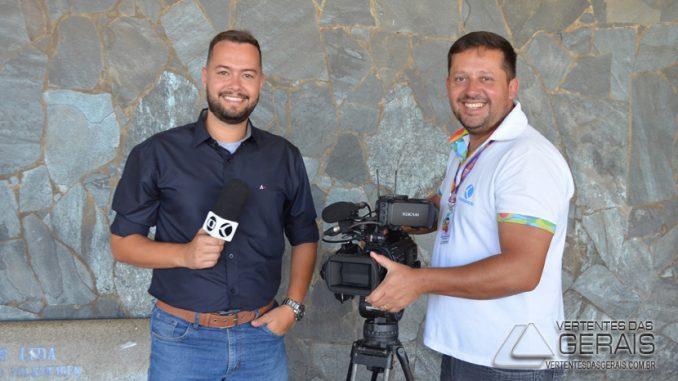 525a61168ff57 COLUNA JANUÁRIO BASÍLIO  NOVO REPÓRTER NA EQUIPE VERTENTES DA TV ...