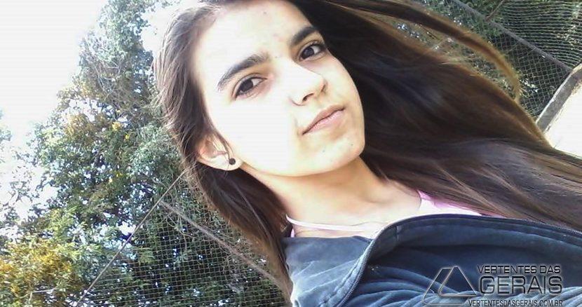 foto da adolescente Gisele Campos assassinada em Tiradentes.