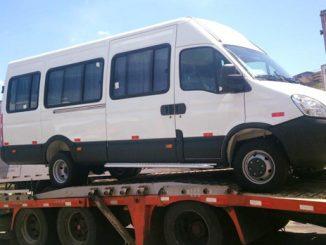 Foram investidos R$ 324 mil na aquisição dos veículos.