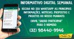 CARLOS DU LANÇA INFORMATIVO DIGITAL SEMANAL ATRAVÉS DO WHATSAPP
