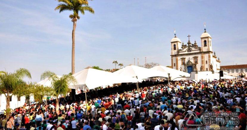 Jubileu do Bom Jeus do Matosinhos em Congonhas (Foto: Mauro Fernandes de Barros)