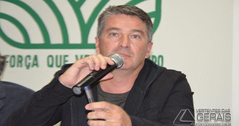 Luis Álvaro Abrantes Campos, prefeito eleito de Barbacena.